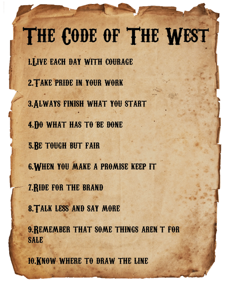 codeofthewest
